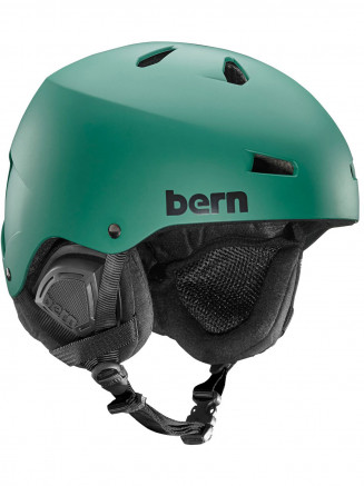 Mens Macon Thin Shell Helmet With Eps Foam Green