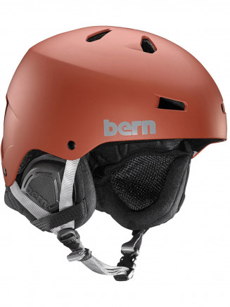 Mens Macon Thin Shell Helmet With Eps Foam Red