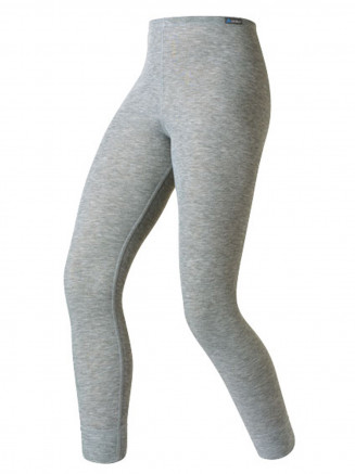 Kids Base Layer Warm Pants Grey