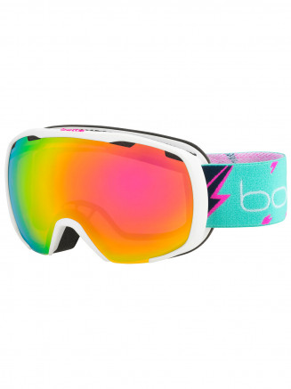 Mens Womens Royal Goggles White