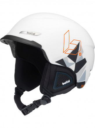 9967e1dd770 Bolle Mens Womens Beat Helmet White