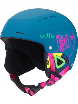 Kids Quiz Helmet Blue