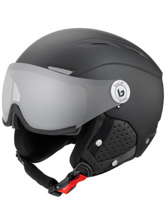 Mens Womens Backline Visor Premium Helmet Black