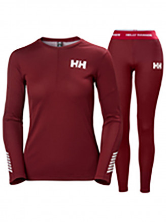 Womens Lifa Active Set Red