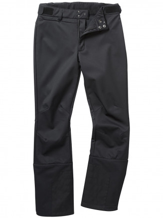 Womens Aubree Fitted Softshell Ski Pants Short Black