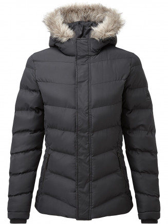 Womens Bartle Insulated Jacket Black