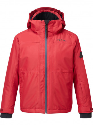 Kids Bedlam Waterproof Insulated Ski Jacket Red