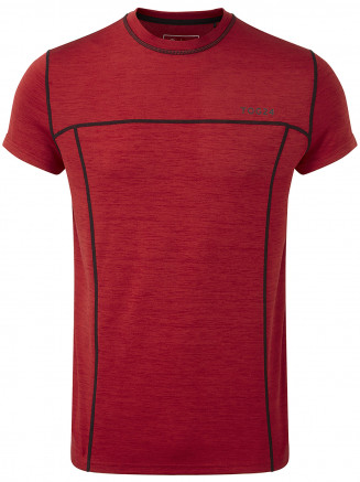Mens Dive Performance Tshirt Red