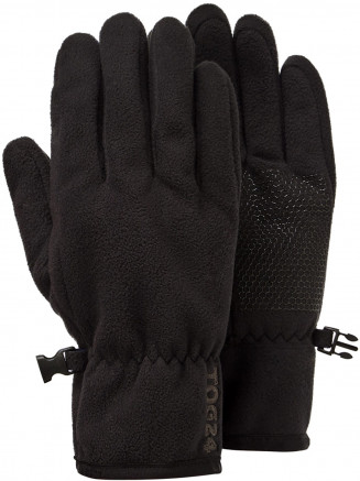 Mens Womens Eske Fleece Gloves Black