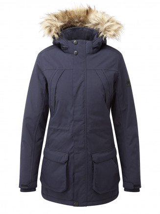 Womens Essential Waterproof Jacket Blue