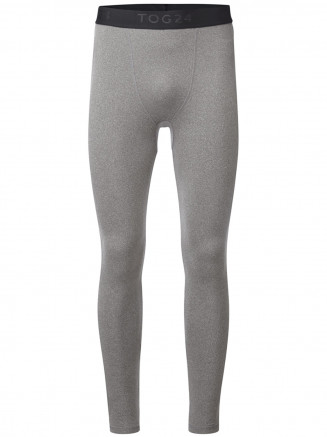 Mens Fixby Thermal Leggings Grey