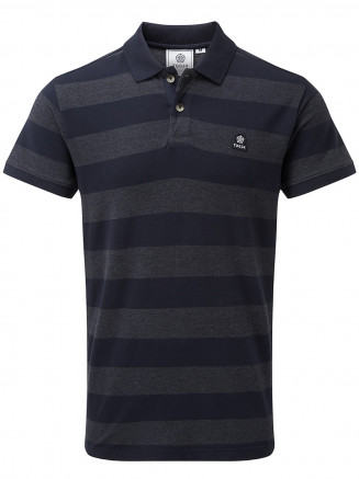 Mens Fordon Pique Polo Shirt Blue