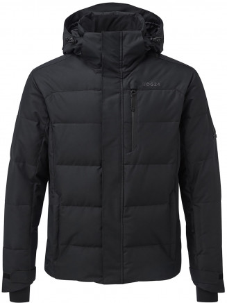 Mens Gunby Waterproof Down Filled Ski Jacket Black