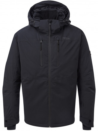 Mens Hawes Waterproof Down Filled Ski Jacket Black