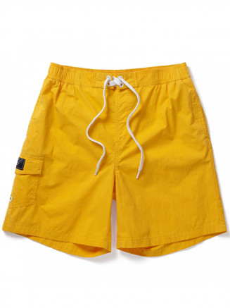 Mens Helier Swimshorts Yellow