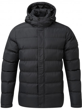 Mens Hexham Long Insulated Jacket Black