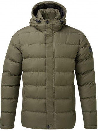 Mens Hexham Long Insulated Jacket Green