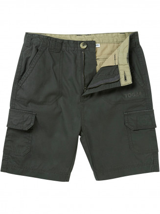 Boys Hoyland Cargo Shorts Grey
