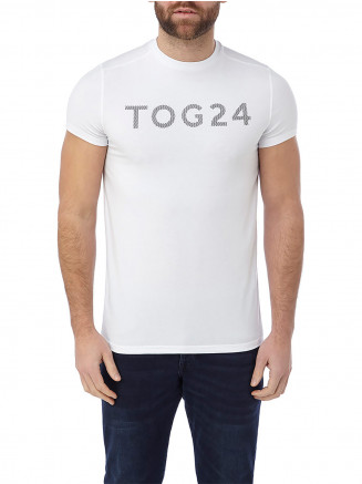Mens Hutton Performance Tshirt White