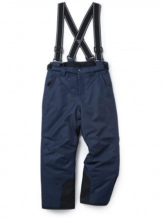 Kids Knot Waterproof Insulated Ski Pants Blue