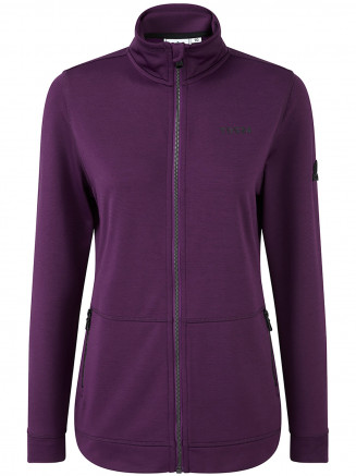 Womens Lottie Performance Jacket Purple