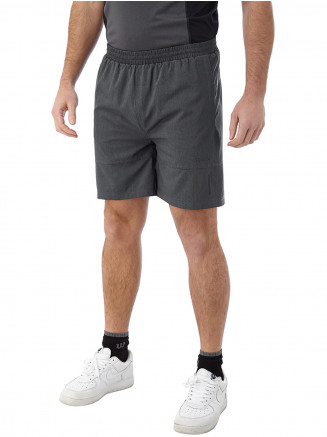 Mens Marathon Performance Shorts Grey