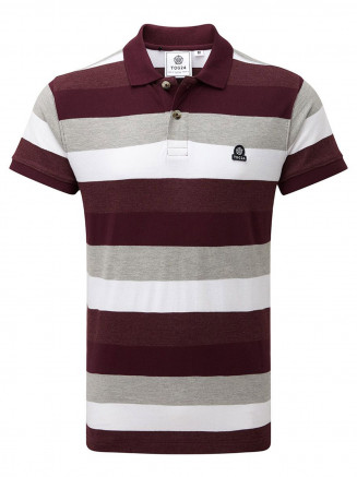 Mens Palin Polo Red