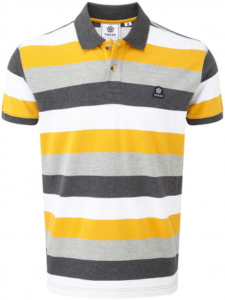 Mens Palin Polo Shirt Yellow