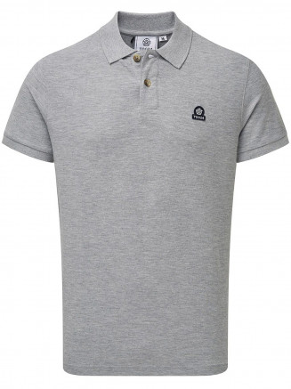Mens Percy Polo Grey