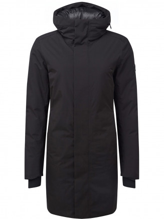 Womens Radiant Waterproof Down Filled Parka Black