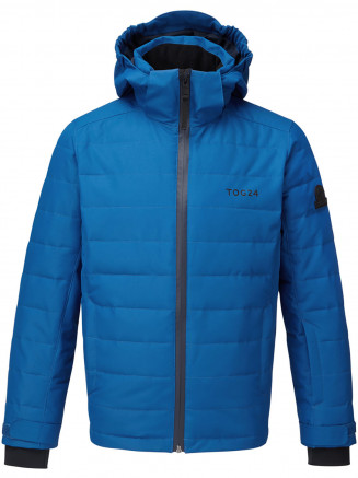 Kids Rocky Waterproof Insulated Ski Jacket Blue