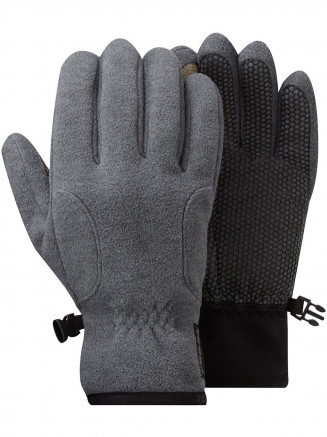 Mens Womens Score Tcz Windproof Gloves Grey