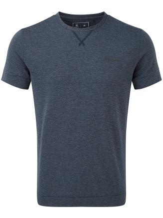 Mens Versus Dri Release Tshirt Blue