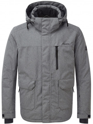 Mens Vertigo Waterproof Insulated Ski Jacket Grey