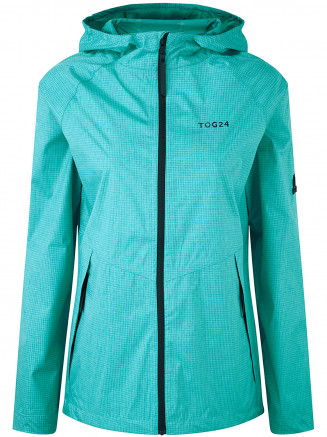 Womens Vettel Performance Waterproof Jacket Turquoise