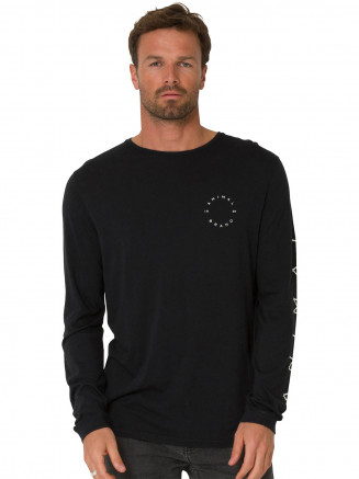 Mens Barton Tshirt Black