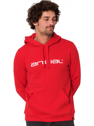 Mens Driver Hoody Red