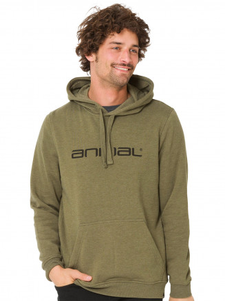 Mens Driver Hoody Green