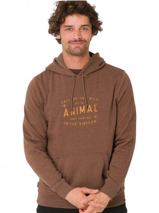 Mens Wild Hoody Brown