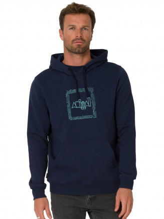 Mens Foretime Hoody Grey