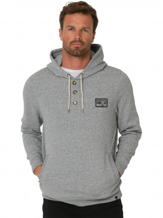 Mens Basecamp Hoody Grey