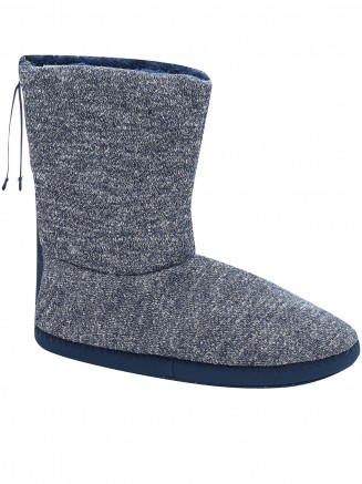 Mens Bollo Slippers Grey