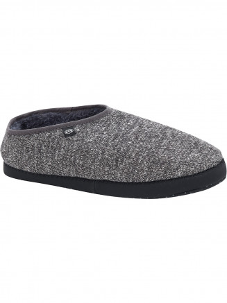 Mens Bollo Shortie Slippers Grey