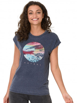 Womens Cosmic Tshirt Grey