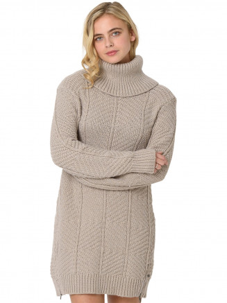 Womens Lizzie Lei Knitted Jumper Grey