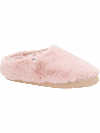 Womens Bollo Shortie Slippers Pink