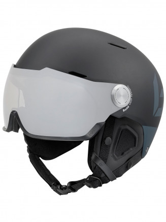 Mens Womens Might Visor Premium Helmet Black