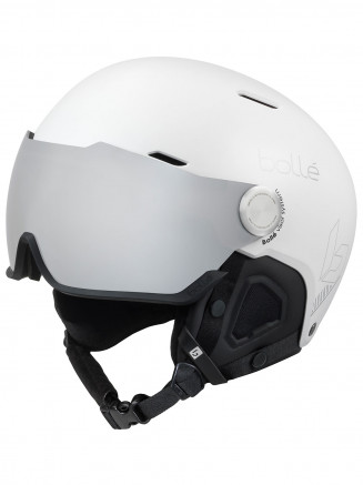 Mens Womens Might Visor Helmet White