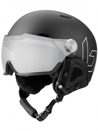 Mens Womens Might Visor Premium Mips Helmet Black