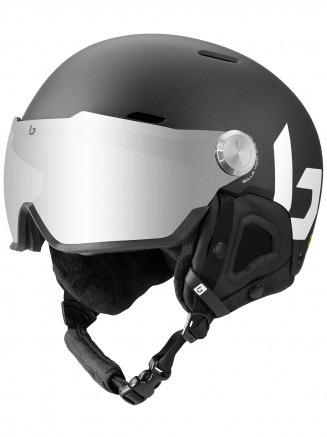 Mens Womens Might Visor Helmet Black
